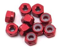 Yeah Racing 3mm Aluminum Lock Nut (10) (Red) (Team Associated RC18MT)