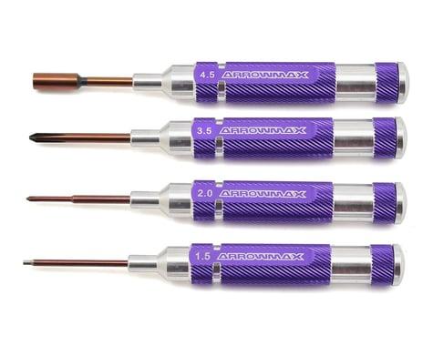 AM Arrowmax Mini Tool Set w/Plastic Case (4)