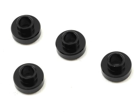 Team Associated Aluminum Servo Washers (Black)