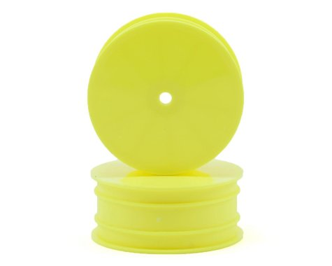 Team Associated 9.5mm Hex 2.2 4WD Front Buggy Wheels (2) (B44.2) (Yellow)