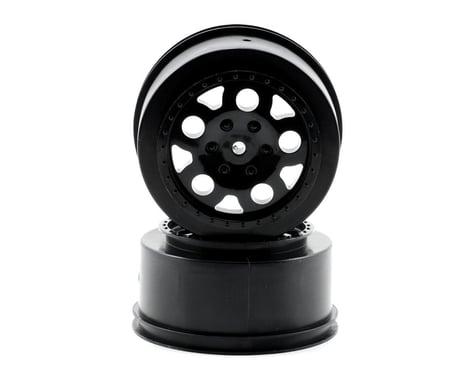Team Associated KMC Short Course Wheels (Black) (2) (SC10 Rear)