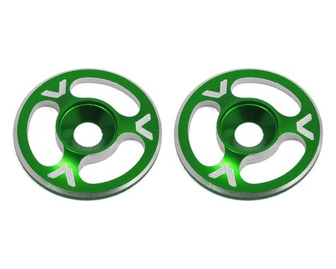 Avid RC Triad Wing Mount Buttons (2) (Green)