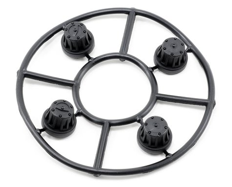 Axial Hub Cover Set (Black) (4)