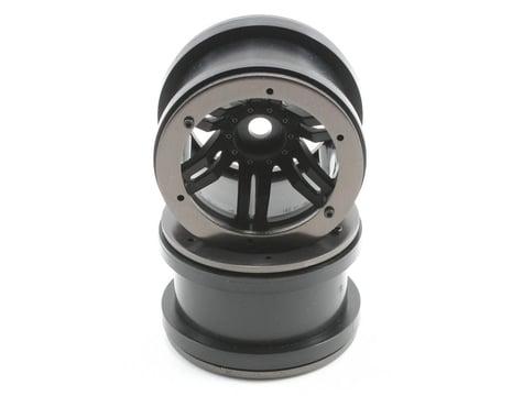 Axial Rockster Beadlock 2.2 Rock Crawler Wheels (2) (Black)