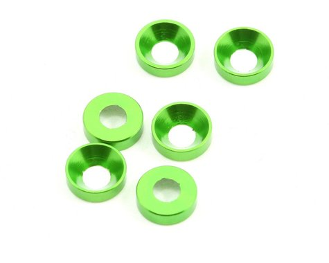 Axial 3x6.9x2mm Cone Washer (6)