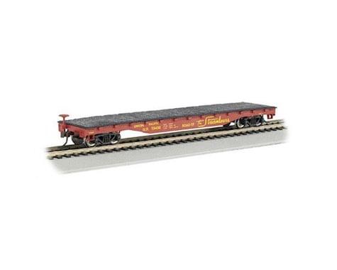 Bachmann Union Pacific #594486 52' Flat Car (HO Scale)