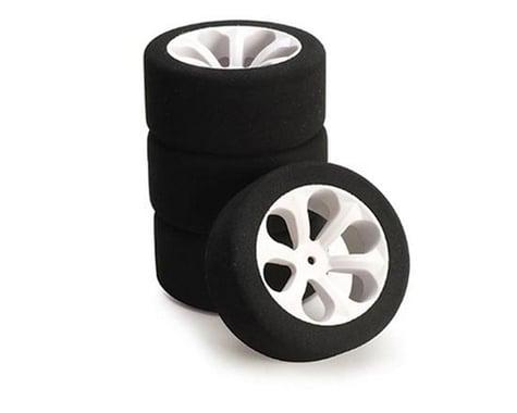 BSR Racing Prism Mounted 1/10 Truck Foam Front Hex Tires (Purple) (2)