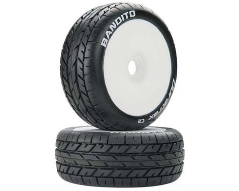 DuraTrax Bandito 1/8 Pre-Mounted Buggy Tire (White) (2) (C2)