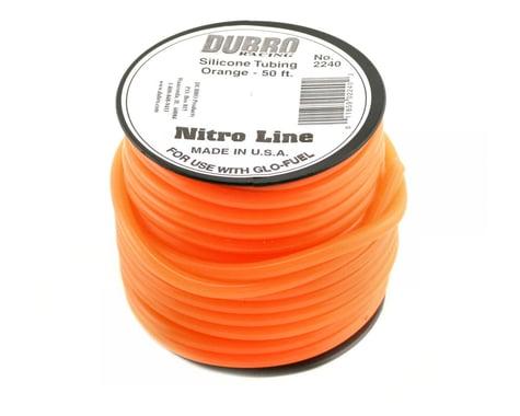 "DuBro ""Nitro Line"" Silicone Fuel Tubing (Orange) (50')"