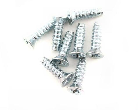 DuBro 3x10mm Flat Head Selftap Screws (8)