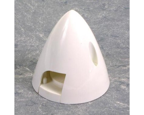 "DuBro 2-1/4"" 4 Pin Spinner (White)"