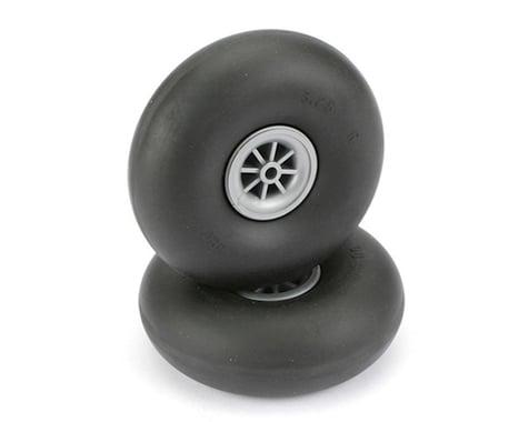 "DuBro 3-1/4"" Smooth Wheels"