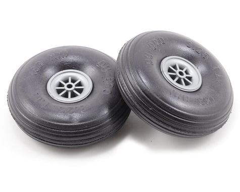 "DuBro 3-1/4"" Treaded Lite Wheel (2)"