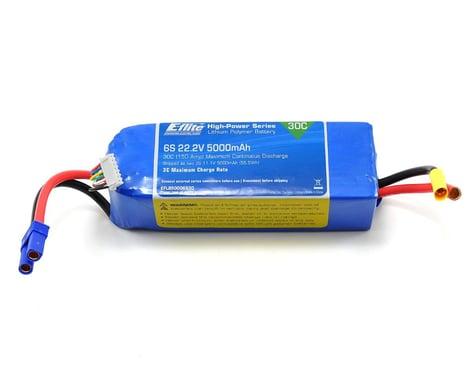 E-flite 6S LiPo Battery Pack w/EC5 30C (22.2V/5000mAh)