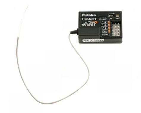 Futaba R603FF FASST 3-Channel 2.4Ghz Receiver