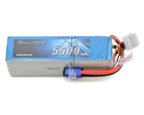 Gens Ace 6s LiPo Battery 60C (22.2V/5500mAh)