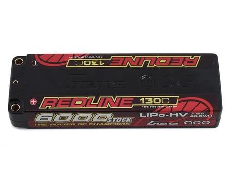 Gens Ace Redline 2S LiHV LiPo Battery 130C w/5mm Bullets (7.6V/6000mAh)