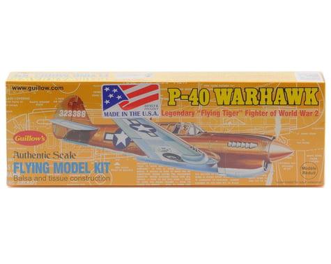 Guillow P-40 Warhawk Flying Model Kit