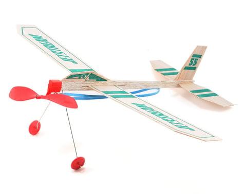 Guillow Rise Off Ground Jetstream Balsa Airplane Glider