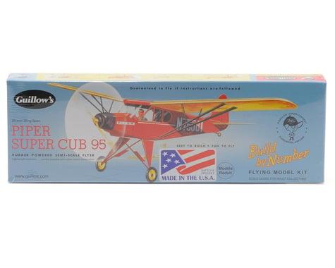 Guillow Piper Super Cub 95 Rubber Powered Semi-Scale Flyer