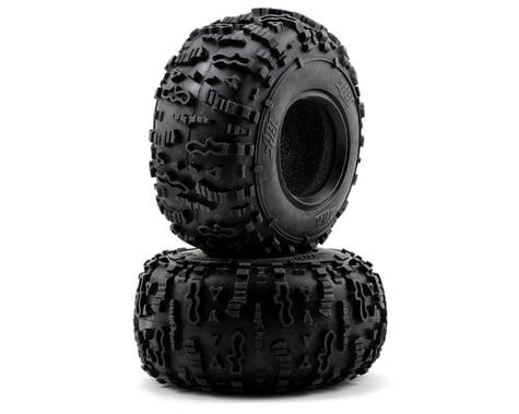 """HB Racing Rover 2.2"""" Rock Crawler Tires (2) (Blue)"""