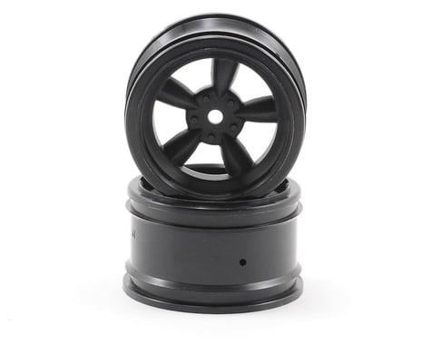 HPI 12mm Hex 31mm Vintage 5-Spoke Wheel (2) (6mm Offset) (Black)