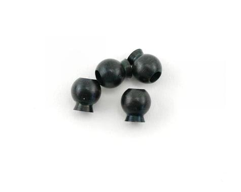 HPI Ball 6.8x7.3x3mm (Black) (4)