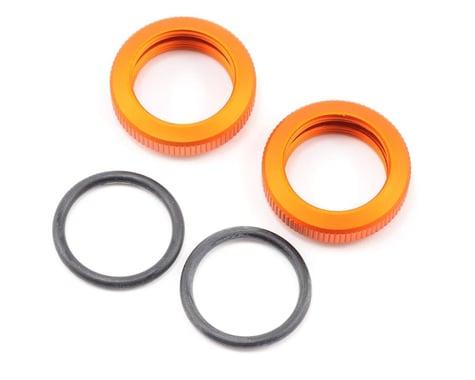 HPI Shock Adjuster Nut 20mm Orange Baja (2)