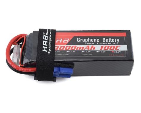 HRB 6S 100C Graphene LiPo Battery (22.2V/3000mAh)