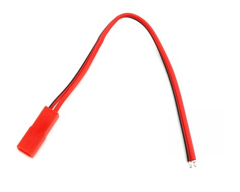 Hitec Red BEC Connector and Lead (Female)