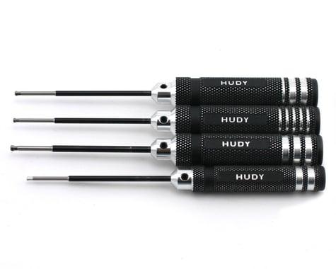 Hudy Metric/Standard Ball Hex Driver Set (4)