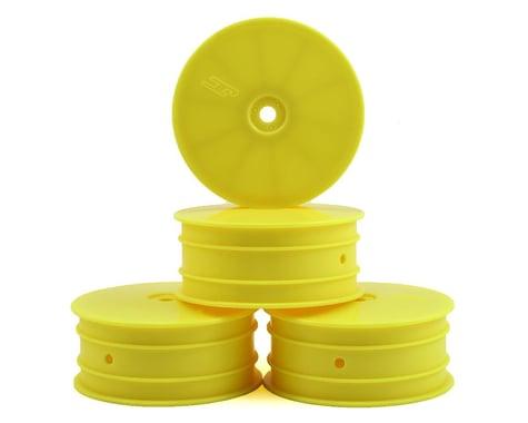 JConcepts 12mm Hex Mono Front Wheel (Yellow) (4) (B74)
