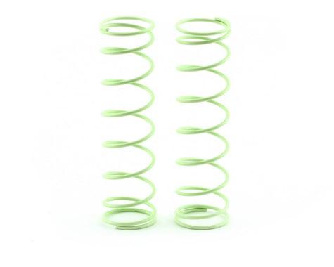 Kyosho 84mm Big Bore Medium Length Shock Spring (Light Green) (2)