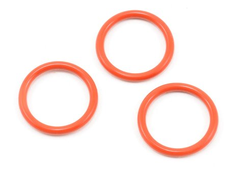 Kyosho P18 Silicone O-Ring (Orange) (3)