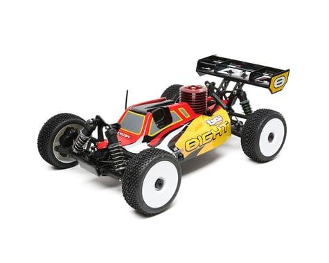 Losi 8IGHT Nitro 1/8 4WD RTR Buggy w/DX2E Radio