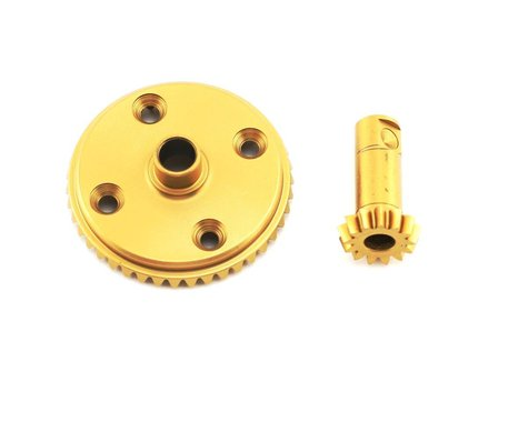Losi Front/Rear Differential Ring & Pinion, Ti Nitride (LST, LST2,AFT)