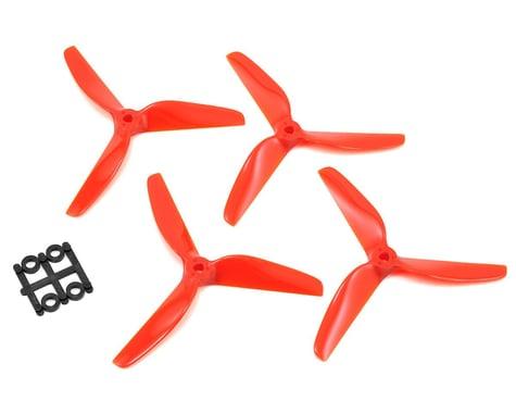 Lumenier 5x5x3 Butter Cutter Propeller (4) (Tangerine)
