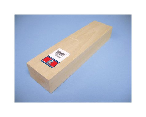 """Midwest Basswood Carving Block (2x3x12"""")"""