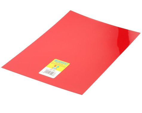 """Midwest Clear, Red PVC .010 x 7.6 x 11"""" (4)"""