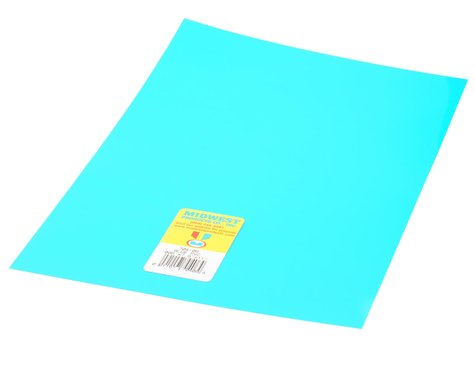"Midwest Clear, Blue PVC .005 x 7.6 x 11"" (4)"