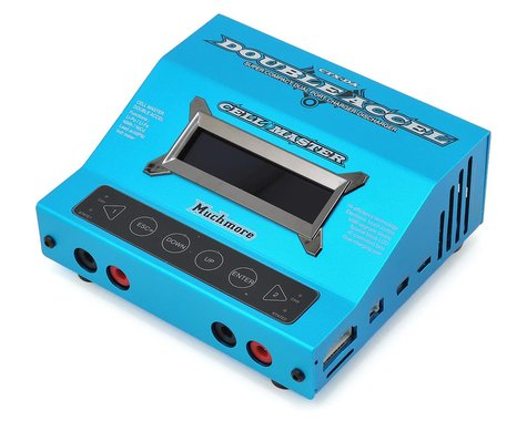 Muchmore Cell Master Double Accel DC Battery Charger (Blue)