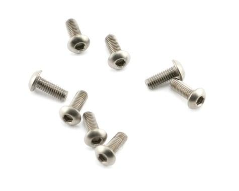 Mugen Seiki 3x8mm SIG Titanium Button Head Screw (8)