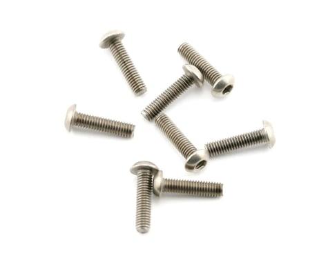 Mugen Seiki 3x12mm SIG Titanium Button Head Screw (8)