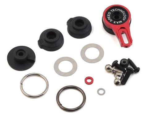 MST Aluminum 8-Point Adjustable Servo Saver (Red)
