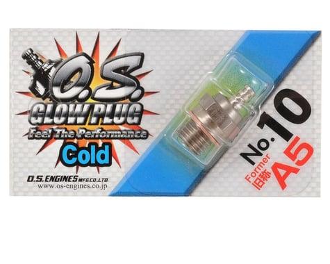 "O.S. No.10 Short Body Standard Glow Plug ""Cold"""
