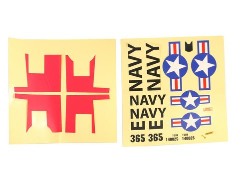 ParkZone Decal Sheet: T-28