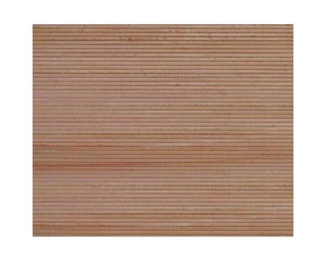 "Plastruct PS-33 Wood Planking, 1/4"" Beige (2)"