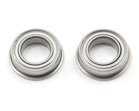 "ProTek RC 8x14x4mm Ceramic Metal Shielded Flanged ""Speed"" Bearing (2)"