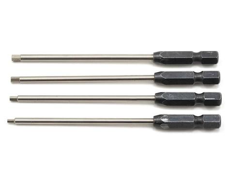 "ProTek RC ""TruTorque"" Metric 1/4"" Power Drill Tip Set (4) (1.5, 2.0, 2.5, 3.0mm)"