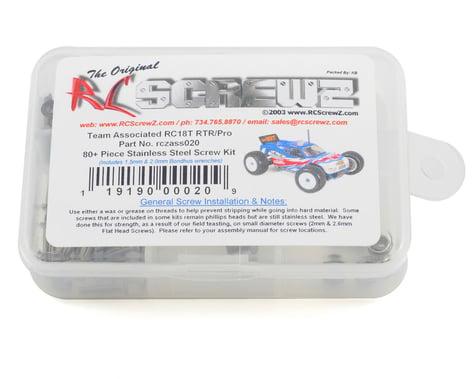 RC Screwz Associated RC18T Stainless Steel Screw Kit